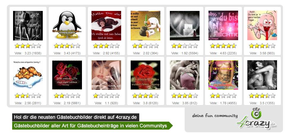 Kostenlose Gästebuchbilder in Deiner kostenlosen Community